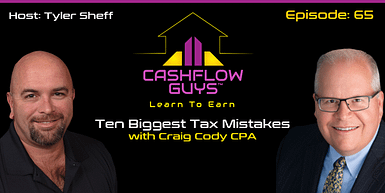 065 Ten Biggest Tax Mistakes with Craig Cody CPA