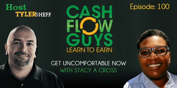 Get Uncomfortable NOW with Stacy A Cross and Tyler Sheff