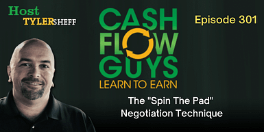 301 – The Spin-The-Pad Negotiation Technique