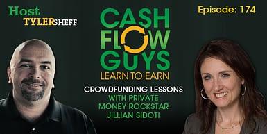 174 – Crowdfunding Lessons with Private Money Rockstar Jillian Sidoti